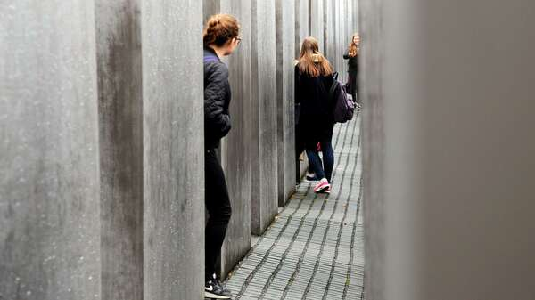Holocaust-Mahnmal in Berlin. Foto: Kitty Kleist-Heinrich