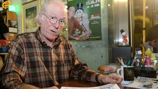 Don Rosa. Foto: Mike Wolff