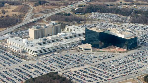 Das NSA-Hauptquartier in Fort Meade, Maryland. Foto: AFP