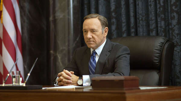 "Aus als Frank Underwood: Netflix dreht ""House of Cards"" ohne Kevin Spacey. Foto: picture alliance /AP Photo/Netflix/Nathaniel E. Bell"