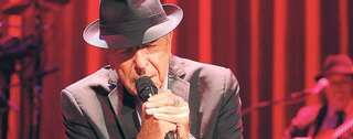 Leonard Cohen in Berlin