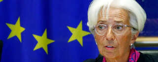 Im November will Christine Lagarde EZB-Chefin werden. Foto: REUTERS