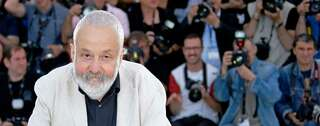 Mike Leigh im Mai 2014 in Cannes. Foto: Reuters