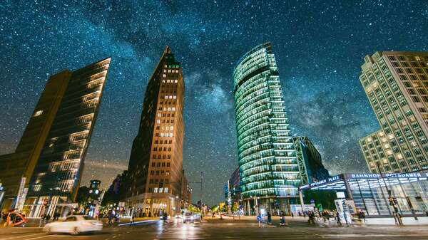 Potsdamer Platz in Berlin. Foto: Getty Images