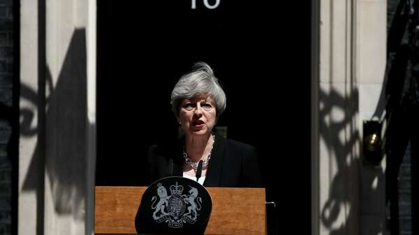 Premierministerin Theresa May. Foto: REUTERS/Stefan Wermuth
