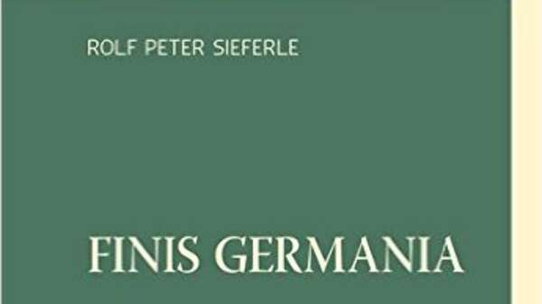 "Cover von Sieferle-Buch ""Finis Germania"" Foto: Promo"