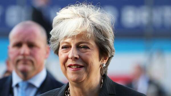 Premierministerin Theresa May. Foto: Reuters