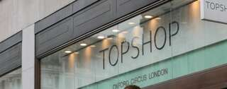 Very British. Topshop am Oxford Circus. Foto: promo