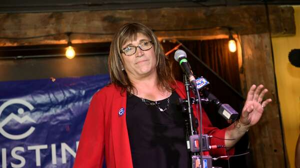 Christine Hallquist in Burlington, Vermont. Foto: REUTERS/Caleb Kenna